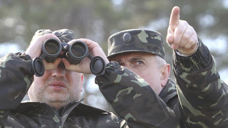 Турчинов: война закончится тогда, когда возьмём Москву