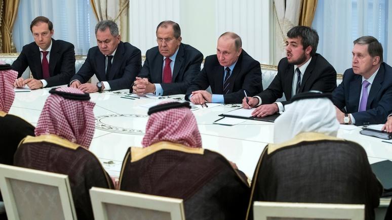 CNBC: сближение Москвы с Эр-Риядом сулит перемены в мировом порядке