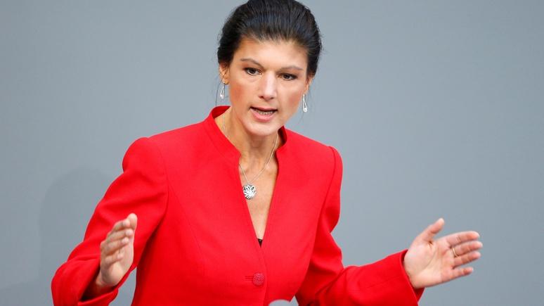 Лидер немецких левых: надо считаться с Россией, а не вводить против неё санкции