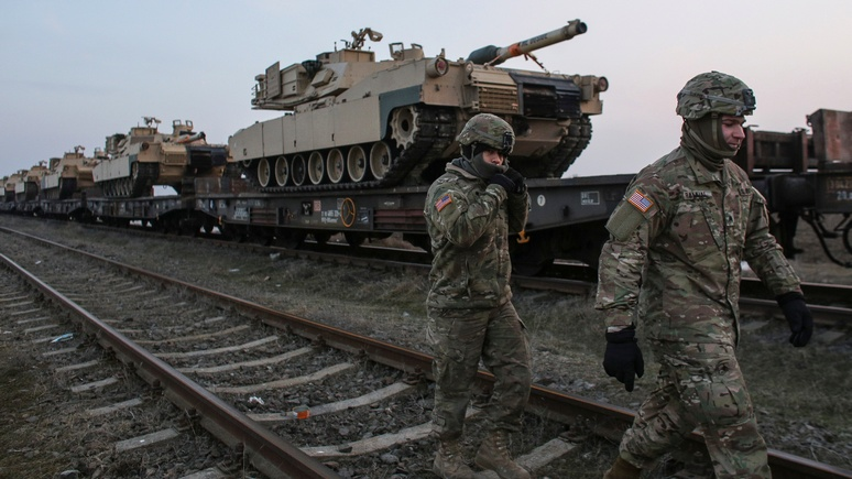 Drive: России и Америке лучше выяснять отношения в «Танковом биатлоне»