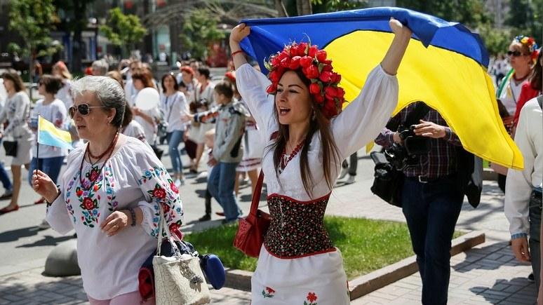 Опрос: всего 24% украинцев считают русский язык основным