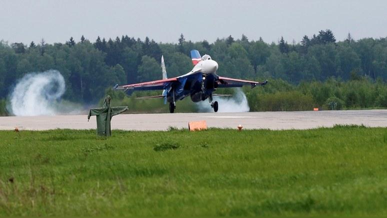 Daily Mail: Су-27 «отогнал» натовский истребитель от борта Шойгу