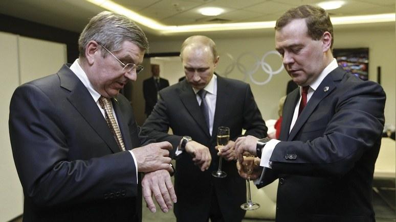 New York Times: допинг в Сочи МОК ещё припомнит Москве