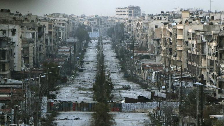 Die Zeit: борьба за раздел Сирии уже началась