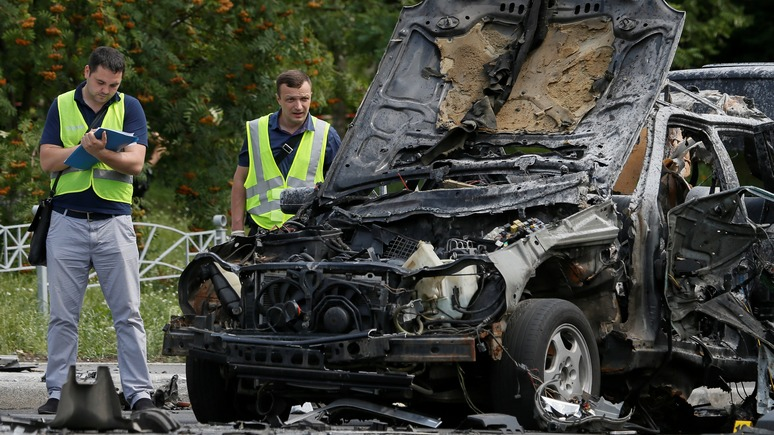 112 Украина: депутат Рады обвинил Россию во взрыве машины в Киеве