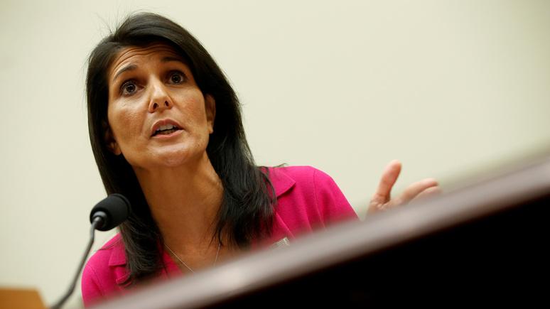 Никки Хейли: предупредив Асада, Трамп спас «многих невинных мужчин, женщин и детей»
