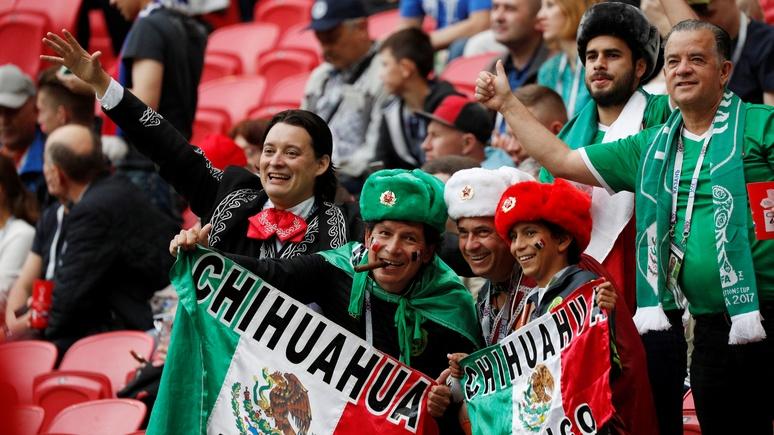 Televisa: в Мексике футбольный фанат пошёл за сигаретами и... оказался в России