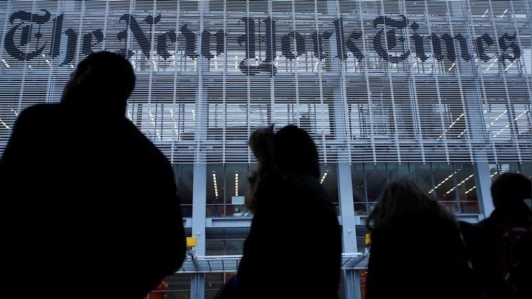 Consortiumnews: признание во лжи о России далось The New York Times с трудом