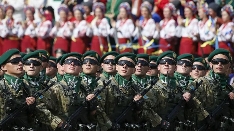 Вести: Киев отметит годовщину независимости парадом иностранных войск