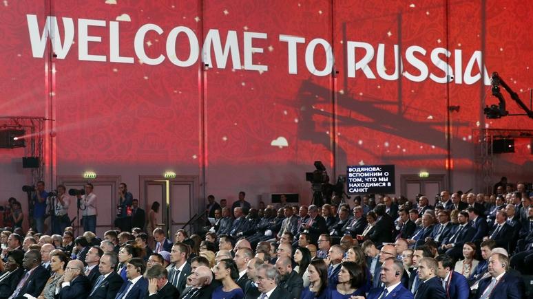Zeit: ЧМ-2018 — шанс для России и Запада «услышать друг друга»