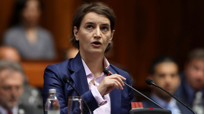 Премьер-министр Сербии: если придётся выбирать — мы выберем ЕС, а не Россию