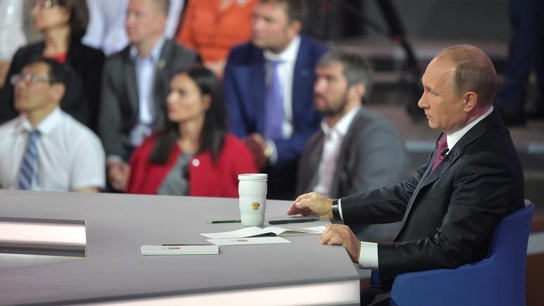Washington Post: Путин подарил россиянам «сказку о добром царе»