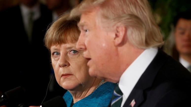 Die Welt: Германия шарахается от Трампа, как от чумного, но это ей не на пользу