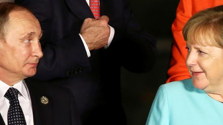 BI: накануне саммита G20 Путин удивил Берлин, встав на сторону Меркель