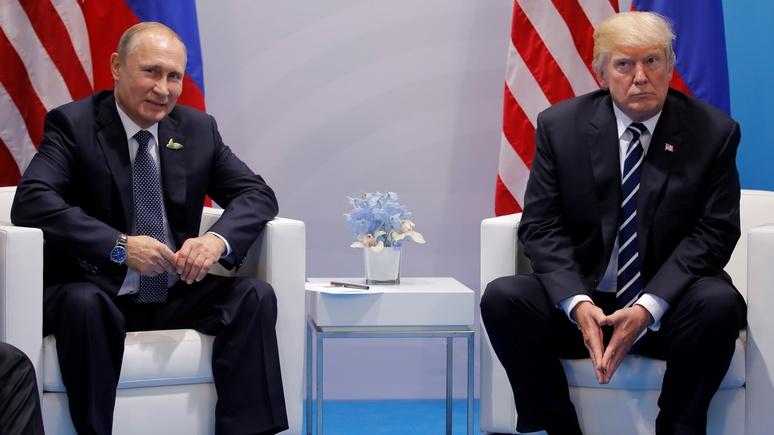 NYT: Путин и Трамп спорили о «российском вмешательстве» целых 40 минут