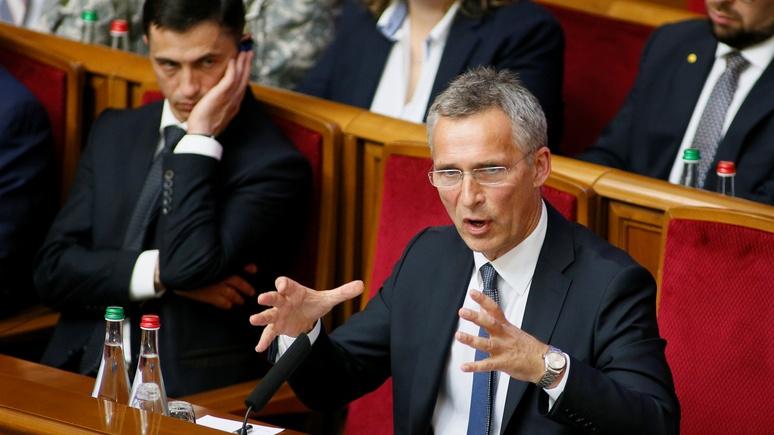Столтенберг: «рак коррупции» мешает Украине вступить в НАТО