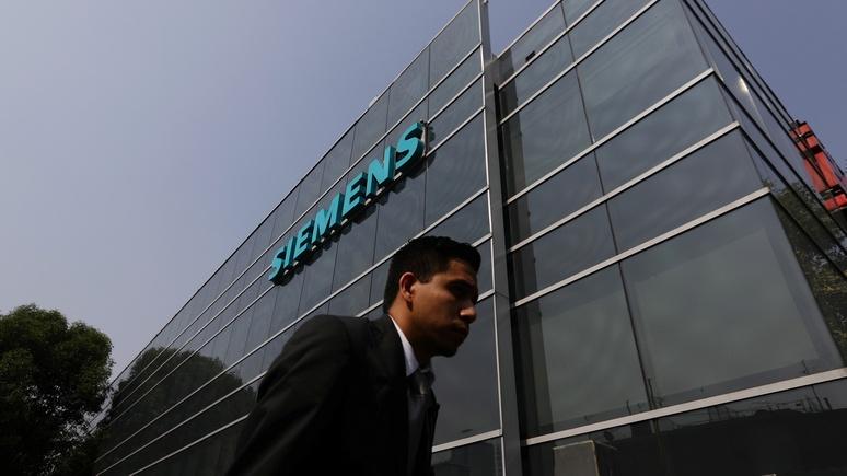 SZ: Siemens отдаляется от России из-за обвинений в «нарушении санкций»