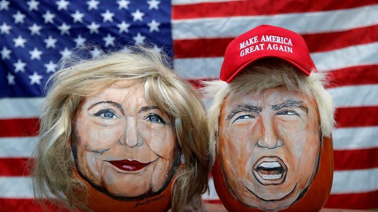 Bloomberg: непредсказуемый Трамп или заведомо враждебная Клинтон — Путину всё равно