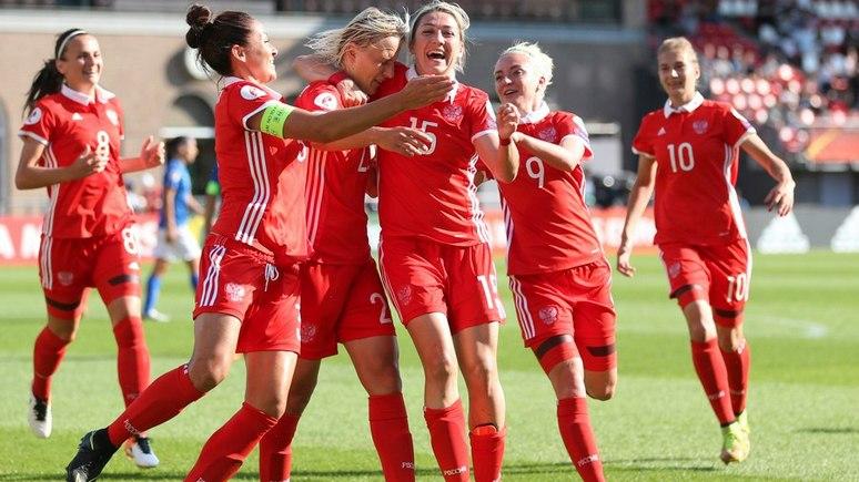 Guardian: женская сборная России по футболу одержала «шокирующую победу» над Италией