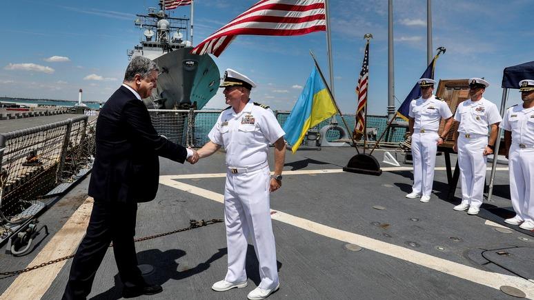 Левый берег: после черноморских учений США подарят Киеву патрульные катера