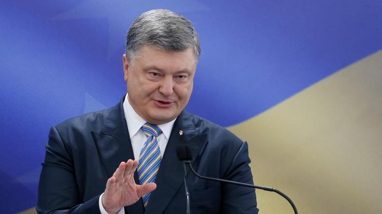 СТРАНА.ua: Порошенко собирается потребовать «тишины» в Донбассе