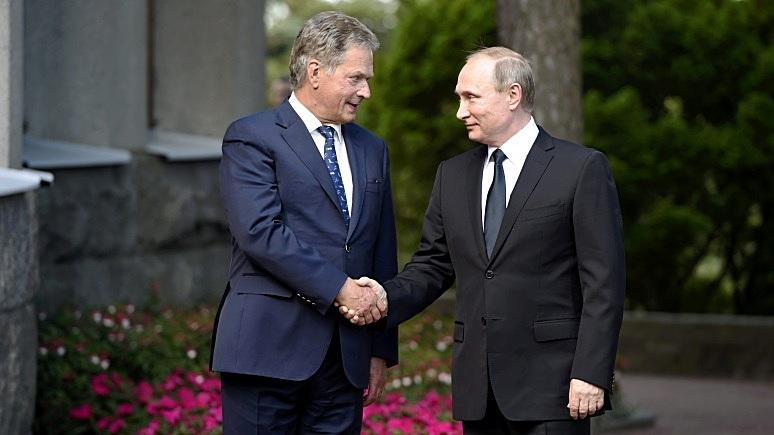 Yle: в Финляндии заранее готовятся к встрече Путина