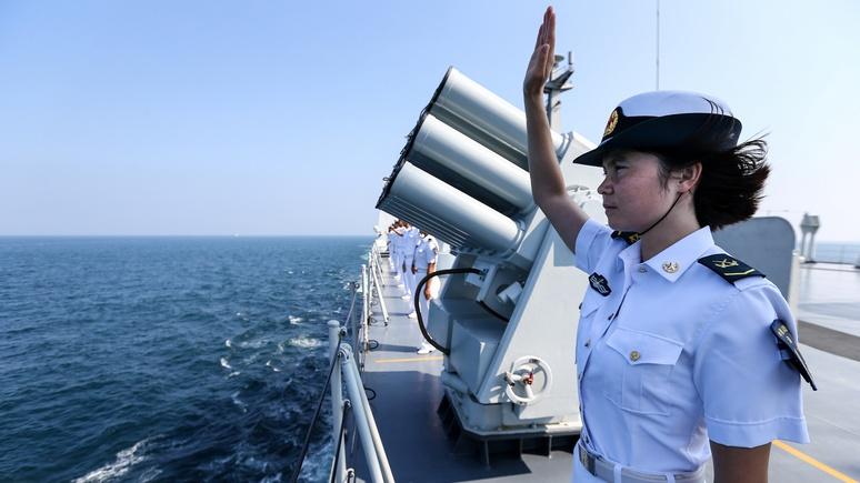 Economist: военная мощь Китая поможет Западу сделать мир безопаснее
