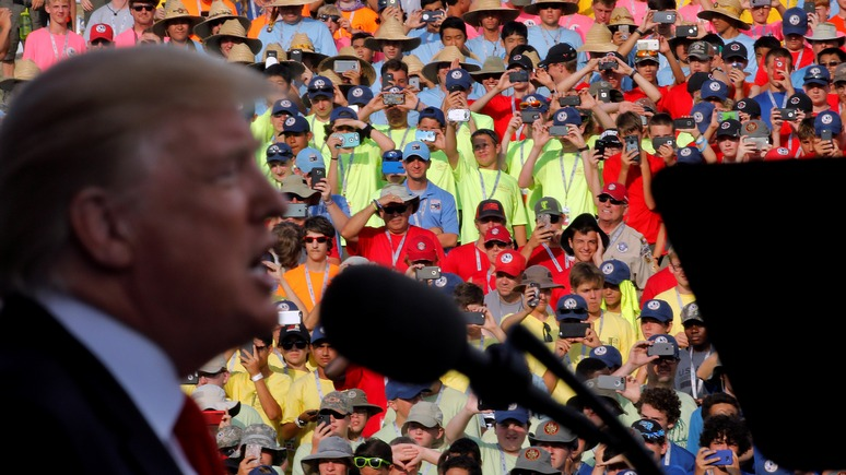 NYT: американский конгресс проверит, собирается ли Трамп угодить Путину