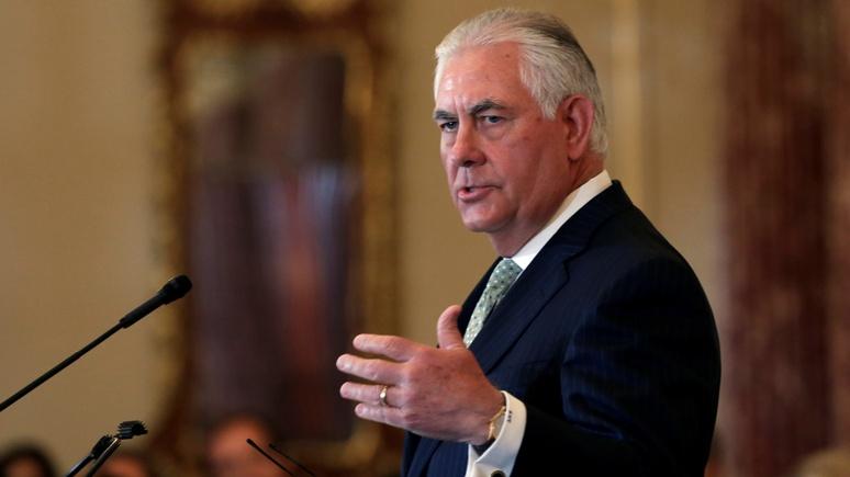 Washington Examiner: Тиллерсон обвинил Россию и Китай в содействии ядерной программе КНДР