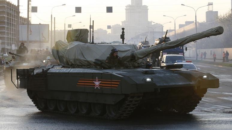 Newsweek: Россия мечтает сразиться с НАТО в танковом биатлоне
