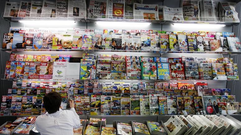 NEOPresse: для немецких СМИ главное — разжигать ненависть к России, и не важно как
