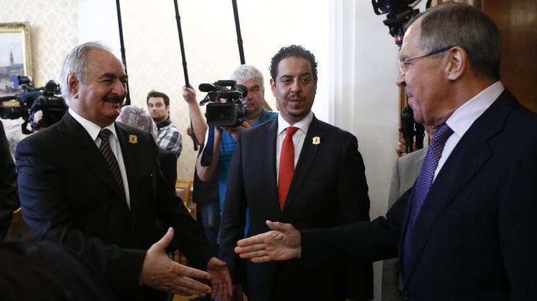 RFI: вопреки оружейному эмбарго ООН, Ливия надеется на военную помощь России