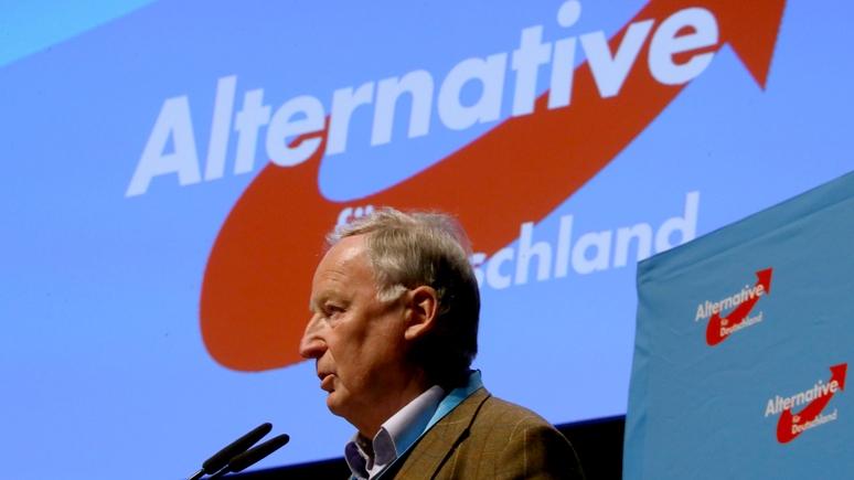 Зампред «Альтернативы для Германии»: Крым надо признать частью России