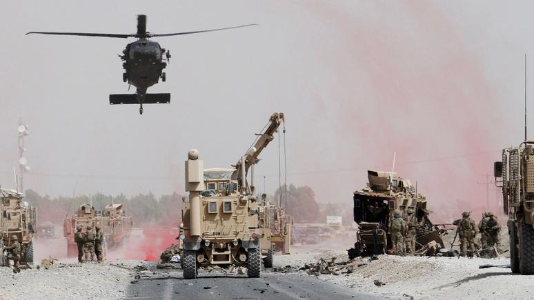 Atlantic предлагает США уйти из Афганистана — пусть с ним разбираются Россия и Иран
