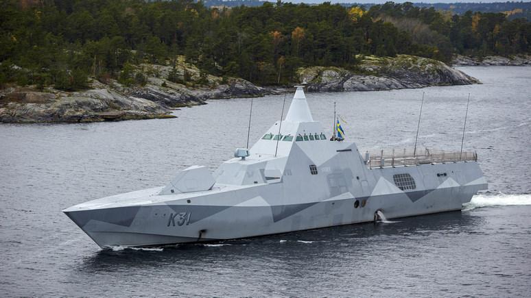 Expressen: России можно не шпионить за флотом Швеции — сама всё покажет
