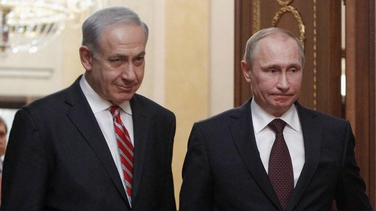 Times of Israel: в Сочи Нетаньяху намерен убедить Путина в «иранской угрозе»