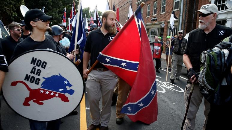 WP: в США крайне правые равняются не на нацистскую Германию, а на Россию