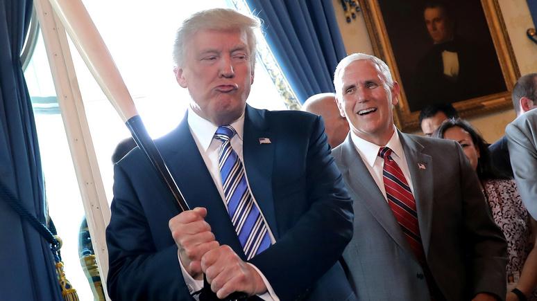 Politico: в разговоре о санкциях Трамп срывался на крик