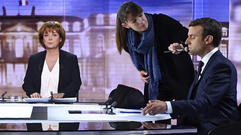 Closer оценил кокетство Макрона: президент потратил на визажиста €26 000