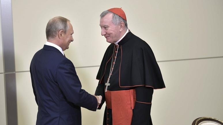 RV: госсекретарь Ватикана рассказал о встрече с Путиным и впечатлении от Храма Христа Спасителя