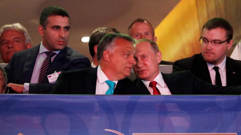 Irish Times: Путин и Орбан обсудили экономику и договорились позаниматься дзюдо