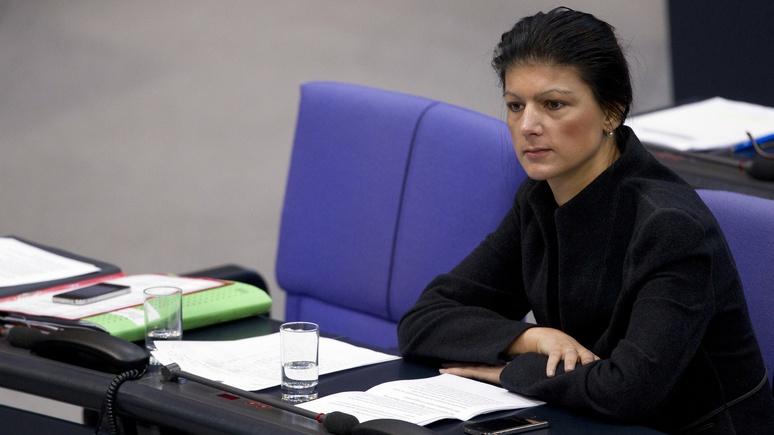Лидер немецких левых: санкции против России бессмысленны и проблем не решают