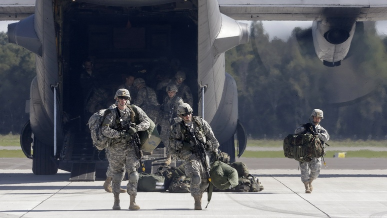 Politico: американский авангард НАТО не в состоянии противостоять России