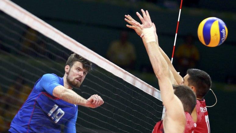 Bild: в волейбольном «триллере» удача оказалась на стороне России