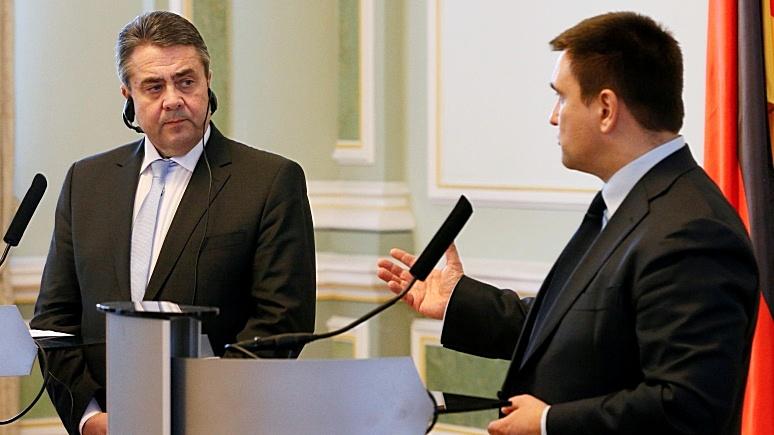 Сегодня: Климкин обвинил Габриэля в «заигрывании» с Кремлём
