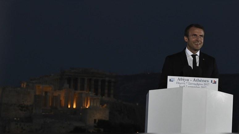 Guardian: Макрон пообещал возглавить европейскую «перестройку»