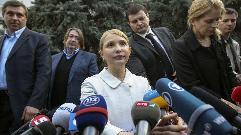 Вести: Тимошенко поможет Саакашвили прорваться на Украину