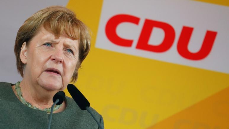 Frankfurter Allgemeine: «аннексия» Крыма навеяла Меркель воспоминания о ГДР
