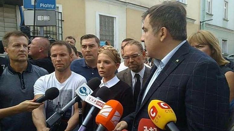 Корреспондент: Тимошенко пополнила базу «Миротворца» за помощь Саакашвили