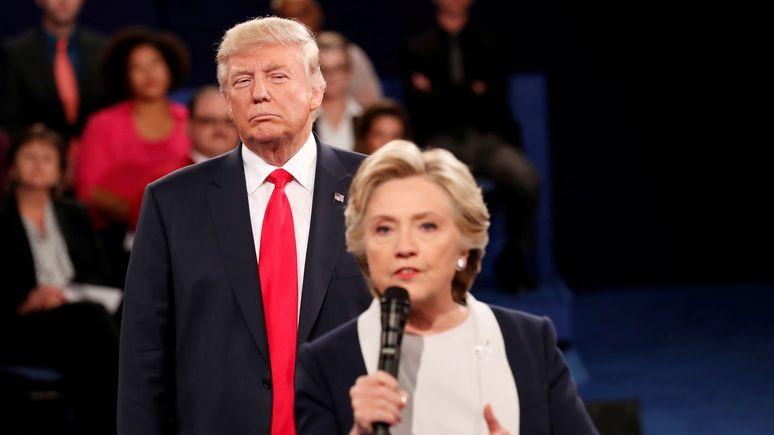 Клинтон в интервью USA Today: Москва желала Трампу победы, значит сговор был